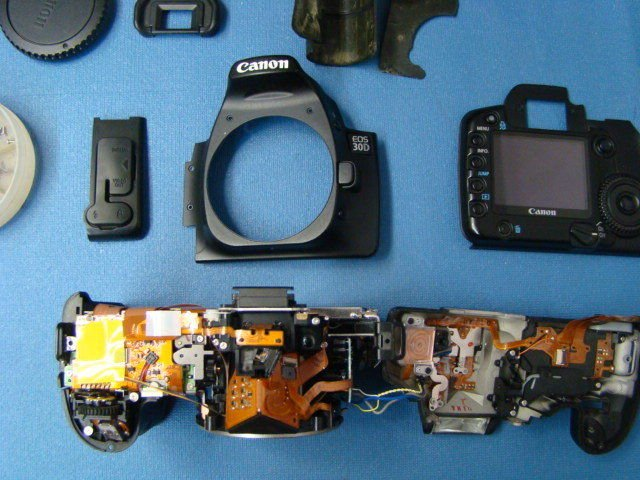 Canon EOS 30D Repair