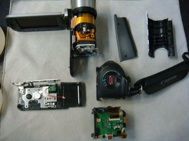 Canon FS300 Repair