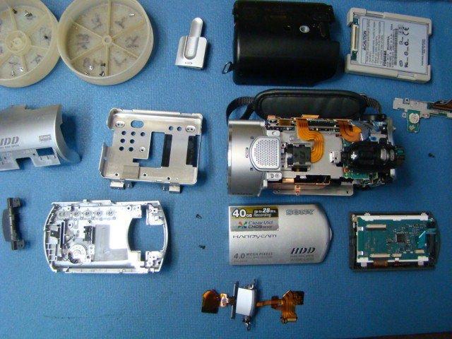 Sony DCR-SR300 Repair