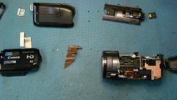 Canon Vixia HF S100 Repair