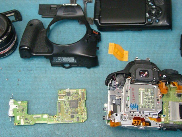 Canon EOS Rebel T3i Repair