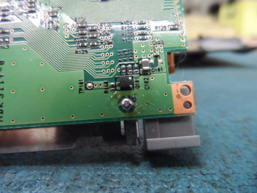 Nikon D700 CF card reader repair – CHA error