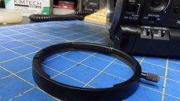 Sony PMW-300 Repair-Remove Lens Ring