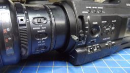 Sony PMW-300 Repair-Repalced Lens Retainer Ring