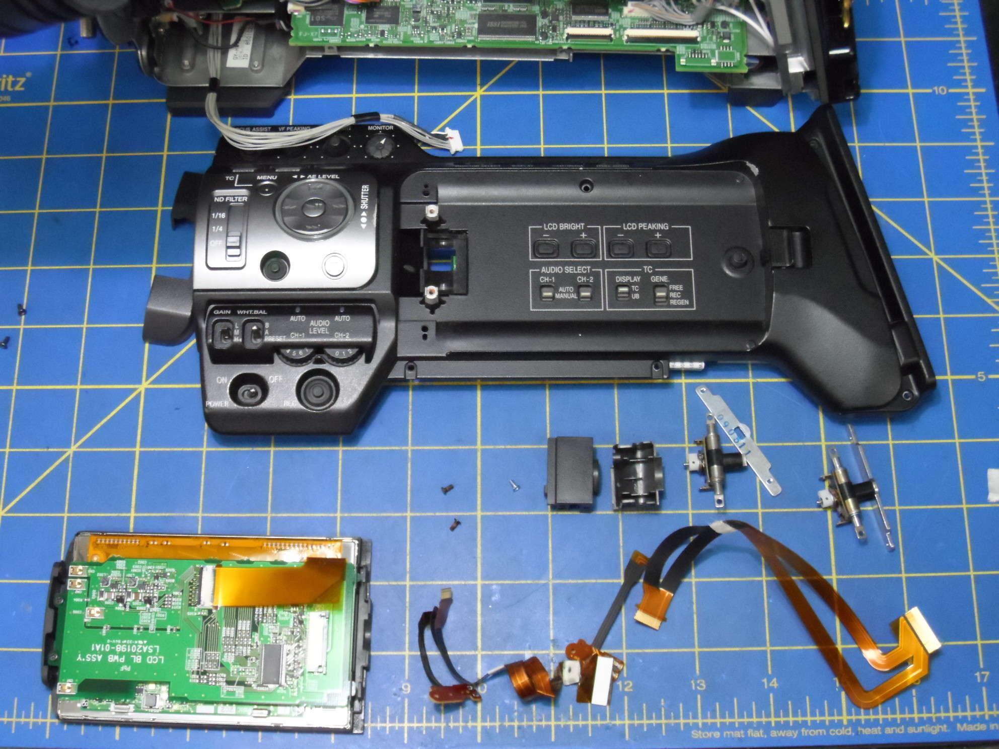 Jvc gz-hd7 60gb hd 3ccd camcorder remote software manual ac comp.