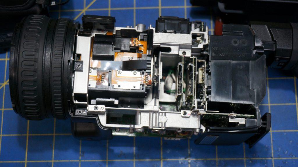 jvc camcorder repair