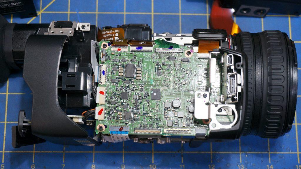 JVC GY-HM170 Repair