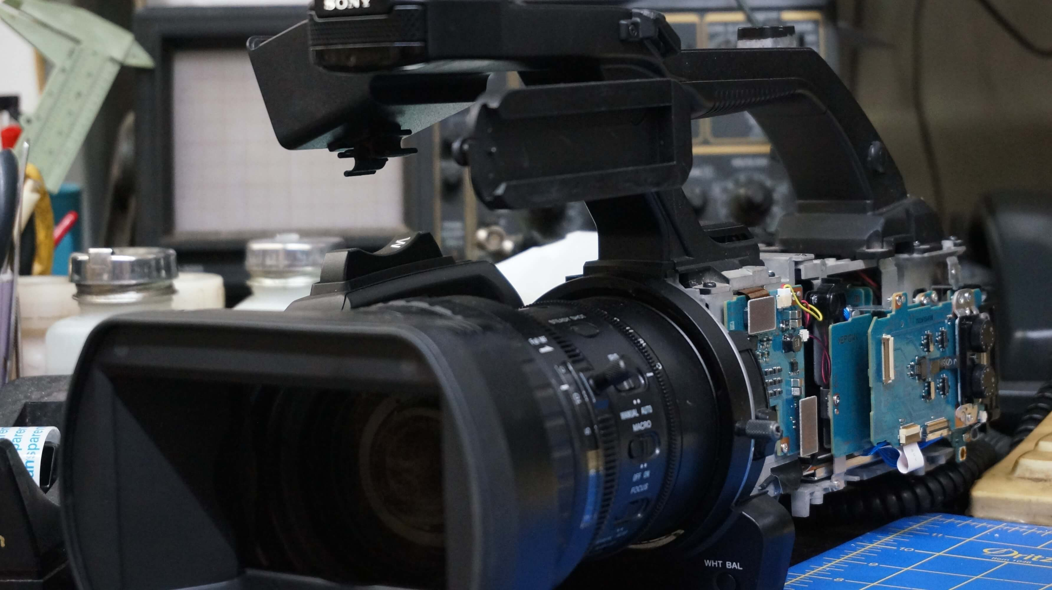 Sony Camcorder Repair Service