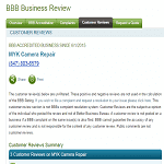 More MYK Camera Repair Reviews at BBB.org