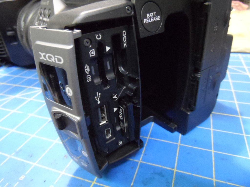 Sony FDR-AX1 Card Error Repair