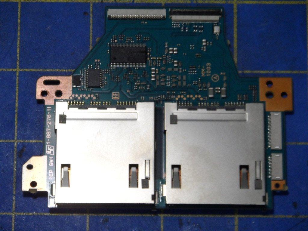 Sony FDR-AX1 Card Slot Repair