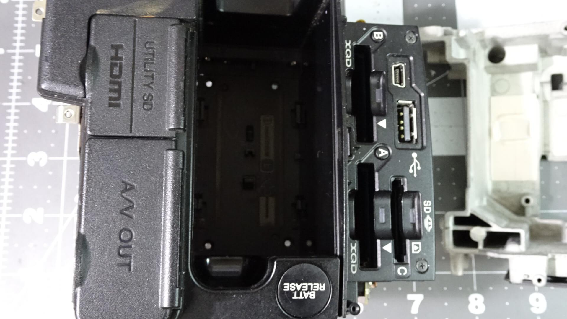 Sony FDR-AX1 Repair