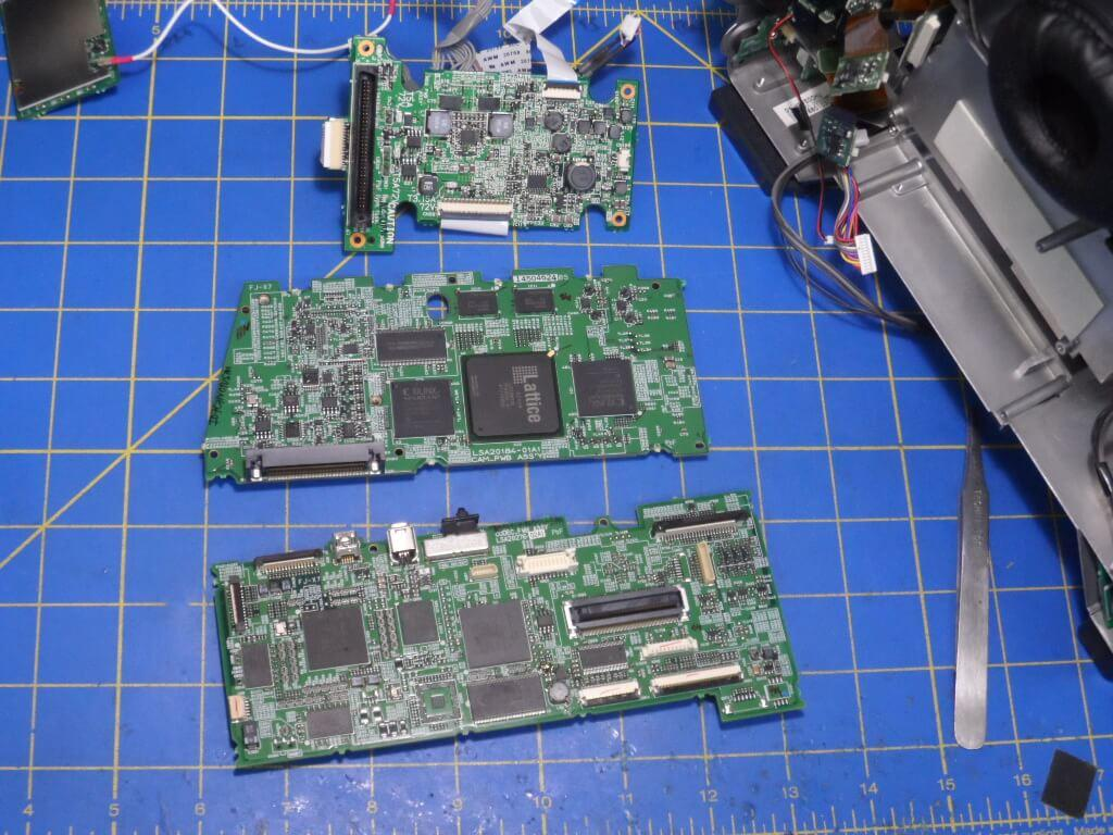 Jvc Gy Hm750 Myk Camera Camcorder Repair Services Electronic Circuit Board Field Service Hm750u