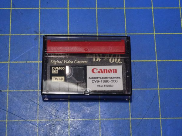 Canon Service Mode Tape DY9-1386-000