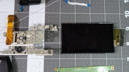 Sony FDR-AX100 Repair LCD
