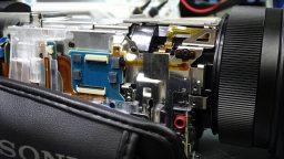 Sony FDR-AX100 Repair circuit board